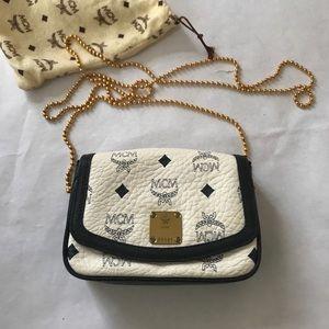 MCM Vintage Monogram Leather Handbag